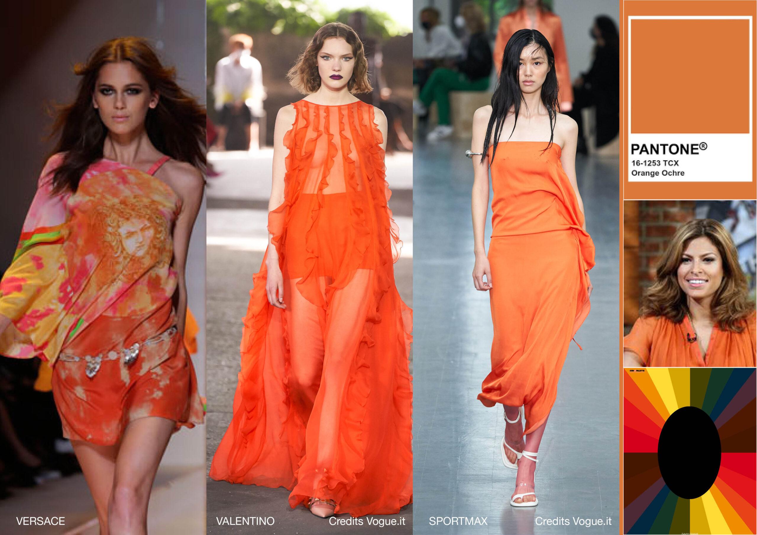 Orange Ochre Primavera estate 2021