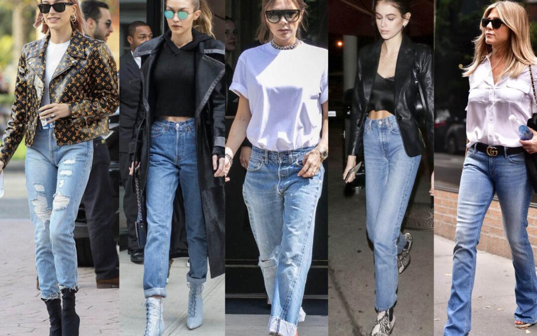 Guida ai jeans, tutti i modelli e a chi stanno bene