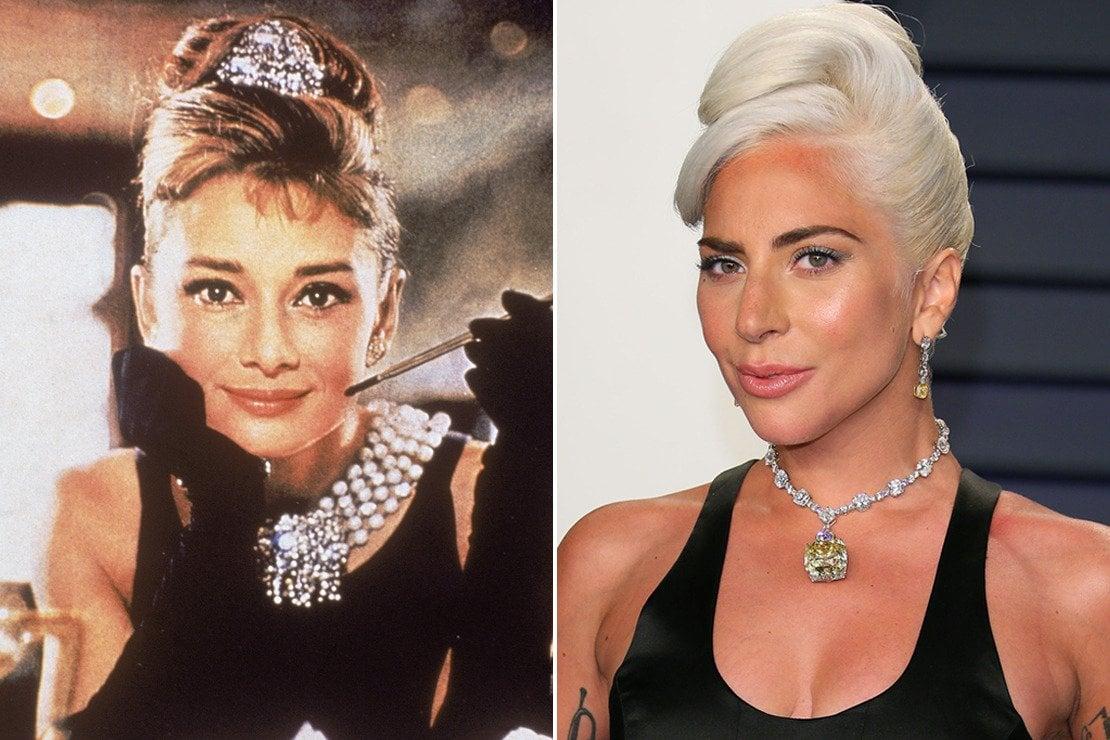 Lady Gaga e Audrey Hepburn