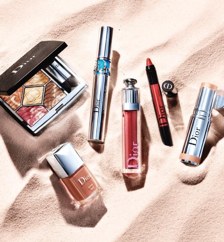 Dior summer dune make up collection summer 2021