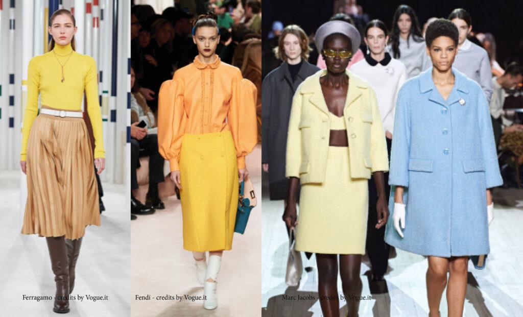 autunno inverno 2021 il giallo